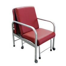 Cadeira dobrável para atendente de hospital