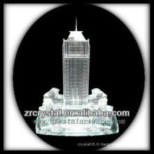 Magnifique bâtiment en cristal modèle H027
