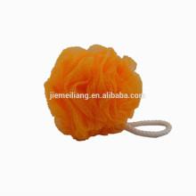 JML New Arrival Mesh Pouf Bath Sponge Bathroom cleaning net sponge with good quality