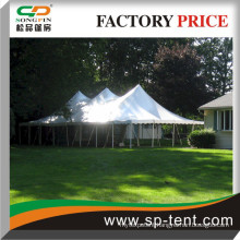 200 seater Row Sitting style Open wedding Ceremony pole tent 30ft x60ft For sale