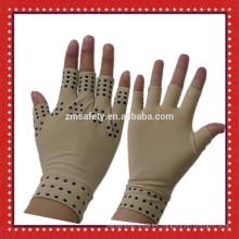 Guantes de alivio de dolor de mano de compresión de cobre