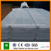 Cerca de seguridad de alambre de acero de bajo carbono / malla soldada de malla de alambre / valla plegada
