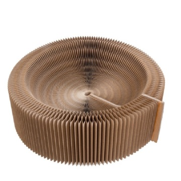 Corrugated Cardboard Foldable Turbo Scratcher Cat Toy