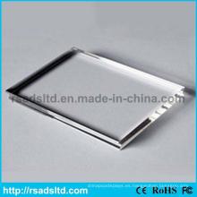 Barato acrílico / hoja de cristal de plástico transparente de plexiglás