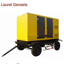 100kw Mobile Power Generator with Deutz Diesel Engine