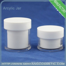 Frasco de vidrio cosméticos cosméticos frasco sello cosméticos crema caja crema tarro crema recipiente