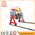 SHUIPO 2017 high tech machine High quality firm gantry h-beam auto welding machine for grid fence semi trailer
