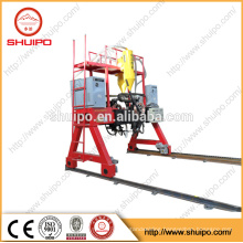SHUIPO 2017 high tech machine High quality firm gantry h-beam auto welding machine for grid fence semi trailer