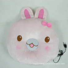 Rabbit face pillow speaker for MP3 PC phone