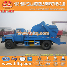 140hp DONGFENG 6CBM rollen Müllwagen / Mülleimer Container Hakenlift Müllwagen 4x2 professionelle Produktion niedrigen Preis