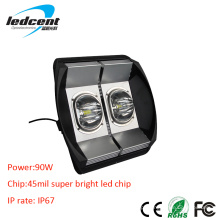 90W Bridgelux COB Chip LED Flood Light com CE
