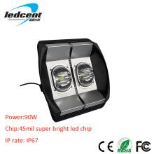 90W Bridgelux COB чип светодиодный свет потока с CE