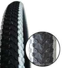CX bicycle tire and inner tube