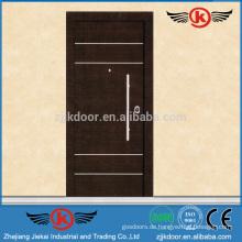 JK-AI9828 Exterieur Stahl Sicherheitstür Design mit Grill
