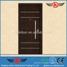 JK-AI9828 Конструкция защитной двери Exterror Steel с грилем
