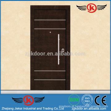 JK-AI9828 Exterror Steel Security Door Design com Grill