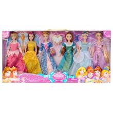 Juguete encantador de la muñeca de las muchachas del animado de los juguetes al por mayor de 11 pulgadas Plástico