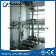 Jh Hihg Eficiente Precio de Fábrica Acero Inoxidable Disolvente Acetonitrilo Etanol Alcohol Distillería Equipos Destilación Industrial Equipo