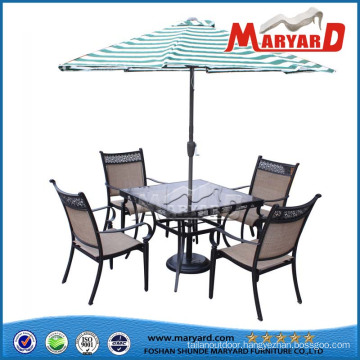 Dining Table and Chairs Metal Chair Steel Furniture