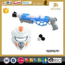 Super air soft bbs gun with mask