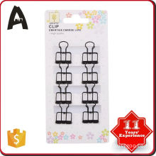 High Quality factory directly 32mm binder clips with logo printing