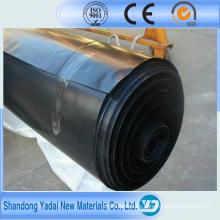 Geomembrana de polietileno de alta densidad HDPE (0.2-2.5 mm)