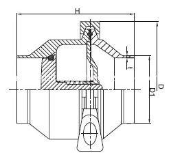 sanitary-check-valve-DIN-WELD-CHECK-VALVE-KAYSEN