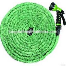 Planeten-Extrastärke-Gewebe-Rasen-Wasser-Gummi-ausdehnbarer Schlauch PVC-Garten-Schlauch