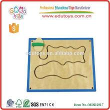 Juego de madera educativo de pared para niños