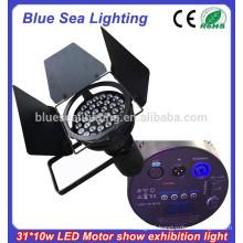 31x10w led auto show light
