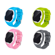 Four colors choices for gps watch trackers