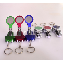 Custom Logo Nail Clipper Pen with Mirror