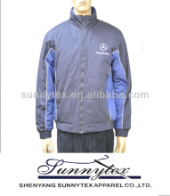 Hot Color Matched Padded mens Jacket