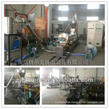 Máquinas para fabricação de cálcio Masterbatch enchimento carbonato