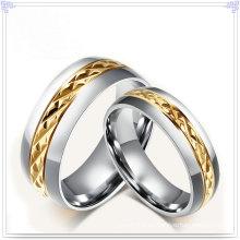 Joyería de moda de acero inoxidable joya anillo de dedo (SR588)