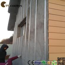 Revestimento de parede exterior mais barato material painéis de pedra do falso