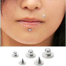 Magnetic Fake Labret Lips Monroe Ear