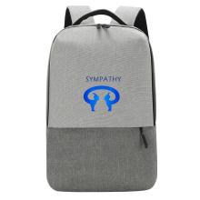 Custom backpack style student bag big capacity