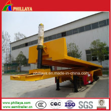 Strenthened Heavy Duty Rear Tipping Semi Trailer