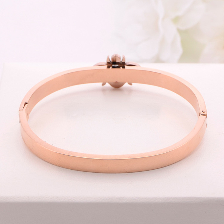 Rose Gold Stainless Steel Bracelet