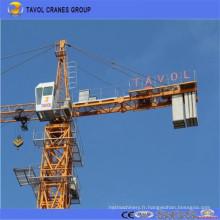 Qtz160 Équipement de construction Grue à tour de grue à grue 16 tonnes