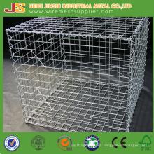 Ce Certificate Galvanized Wire Stone Baskets Welded Gabions