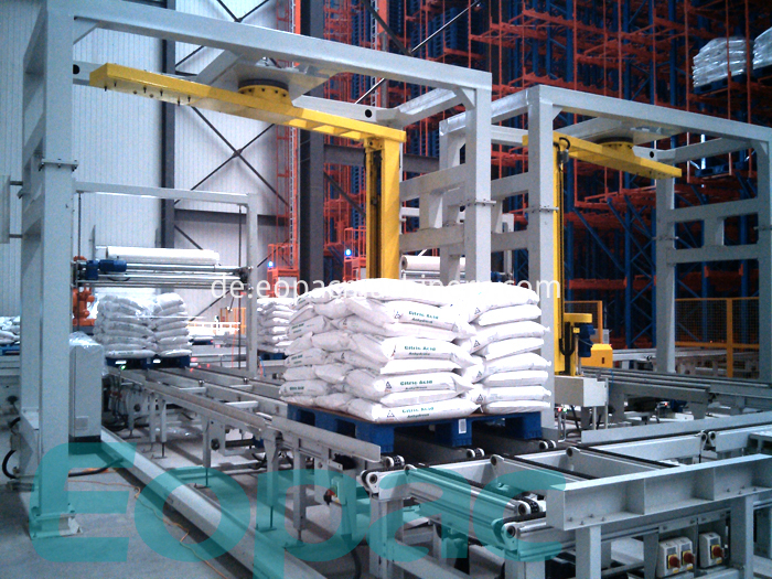 Automatic Pallet Wrapper
