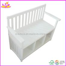 Chaise de banc en bois pour enfants (W08G079)