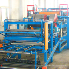 Material de construcción de aluminio compuesto de panel máquina sándwich panel máquina línea de precios