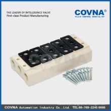 Válvula solenóide válvula de ar válvula elétrica diferença transmissão válvula corpo solenóide bobina válvula conector válvula colector