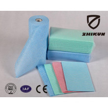 Customizable Viscose Polyester Spunlace Nonwoven Fabric Used for Duster Cloth and Kitchen Cleaning