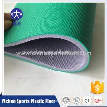 Оптовая ПВХ спортивные покрытия рулон для бадминтона/баскетбол/гандбол суд