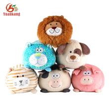 decoração de casa mini pelúcia brinquedo leão de pelúcia