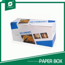 Caixa de empacotamento da impressão a cores da caixa de cartão da cor de Cartriage do tonalizador